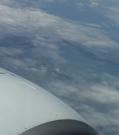 Arrivée en avion