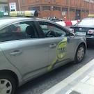 En taxi