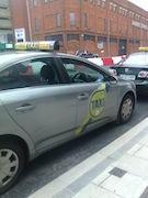 taxi irlande