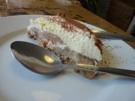 banoffee pie au menu dessert