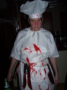 cuisinier halloween
