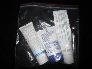 sac cabine liquides