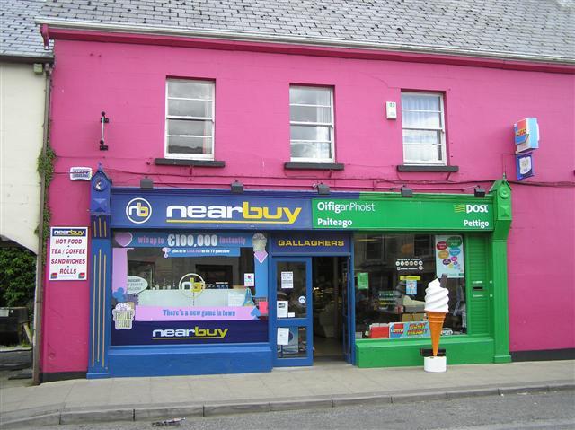 La poste en irlande for Bureau la poste