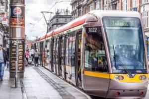 tram LUAS Dublin