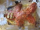 Pain de viande (meatloaf) d'Halloween