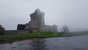 ross castle_kayak