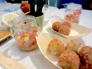 urchin - tapas - boulettes