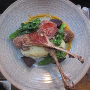mulligan restaurant - agneau