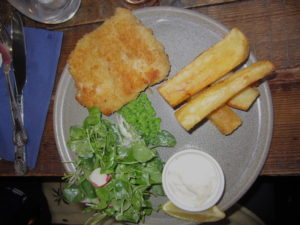 mulligan restaurant - fish and chips