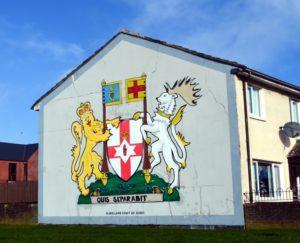 fresque belfast irlande du nord